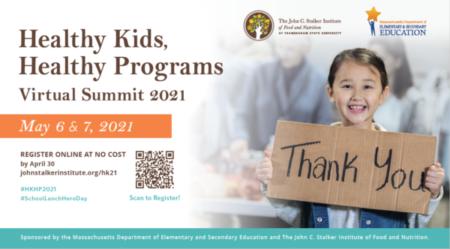 Healthy Kids, Healthy Programs Virtual Summit 2021 Brochure